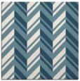 rug #902861 | square white stripes rug