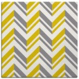rug #902881 | square yellow graphic rug