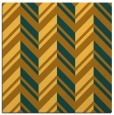 rug #902885 | square light-orange graphic rug
