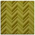 rug #902893   square light-green stripes rug