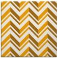 rug #902909 | square light-orange graphic rug