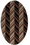 rug #902943 | oval stripes rug
