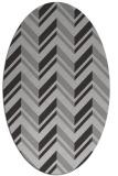 rug #903137 | oval red-orange rug