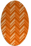 rug #903194 | oval stripes rug