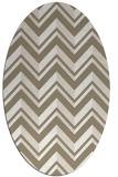 rug #903225   oval white rug