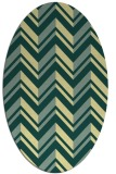 rug #903251 | oval graphic rug
