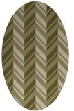 rug #903265   oval light-green rug