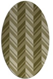 rug #903265 | oval light-green popular rug