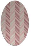 rug #903276 | oval stripes rug
