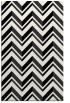rug #903289 |  white stripes rug