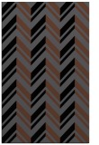 rug #903293 |  black stripes rug