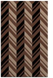 rug #903301 |  brown stripes rug