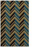 rug #903313 |  mid-brown stripes rug