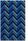 rug #903317 |  blue graphic rug