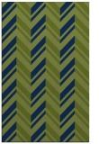 rug #903329 |  green stripes rug