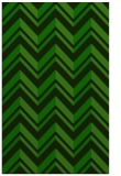 rug #903345 |  green stripes rug