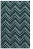 rug #903361 |  blue-green stripes rug