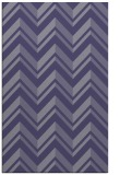 rug #903377 |  blue-violet stripes rug