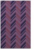 rug #903385 |  blue-violet stripes rug