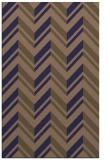 rug #903393 |  blue-violet stripes rug