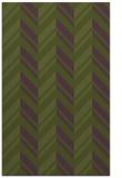 rug #903425 |  green stripes rug