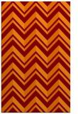 rug #903485 |  red-orange rug
