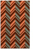 rug #903497 |  orange popular rug