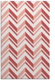 rug #903513    pink stripes rug