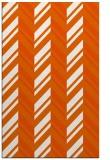 rug #903561    red-orange stripes rug