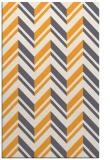 rug #903641 |  light-orange stripes rug