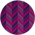 rug #903681 | round pink rug