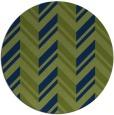 rug #903689 | round blue rug