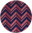 rug #903742 | round stripes rug