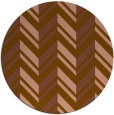rug #903789 | round mid-brown stripes rug