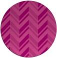rug #903861 | round pink graphic rug