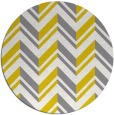 rug #903961 | round yellow popular rug