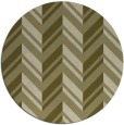 rug #903985 | round light-green rug