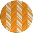rug #903997   round light-orange rug