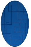 rug #904758 | oval stripes rug