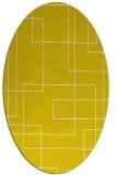 rug #905009   oval white rug