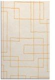 rug #905441 |  light-orange stripes rug