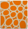 rug #906165 | square orange abstract rug