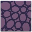 rug #906265 | square purple circles rug