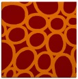 rug #906365 | square orange retro rug