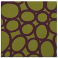 rug #906401 | square purple circles rug