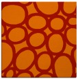rug #906417 | square red circles rug