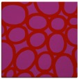 rug #906425 | square red circles rug