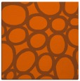 rug #906437   square red-orange circles rug