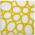 rug #906481 | square yellow circles rug