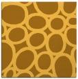 rug #906485 | square yellow retro rug